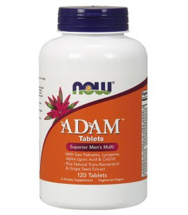 NOW FOODS ADAM MALE MULTI 120 TABS