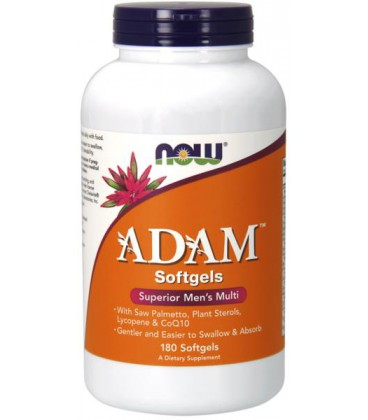 NOW FOODS ADAM MALE MULTI 180 SGELS