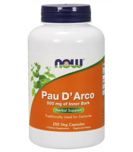 NOW FOODS PAU D' ARCO 500mg 250 VCAPS