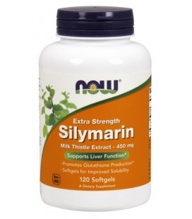 NOW FOODS SILYMARIN MILK THISTLE 450mg 120 SGELS
