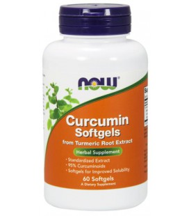 NOW FOODS CURCUMIN 450MG 60 SGELS