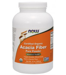 NOW FOODS ACACIA FIBER POWDER ORG 340g