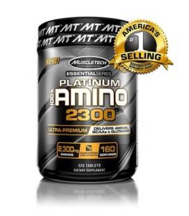 Muscletech platinum 100% amino 2300 320tab 160serv
