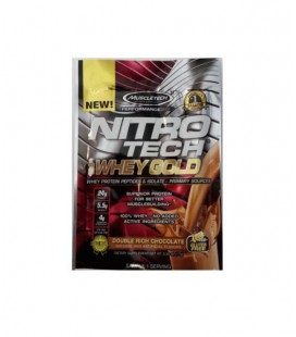 Muscletech NITRO-TECH 100% Whey Gold Sample 1serv