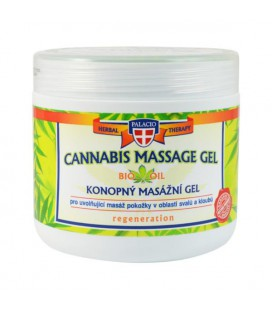 PALACIO Cannabis Massage Gel 5% Bio Oil 600ml