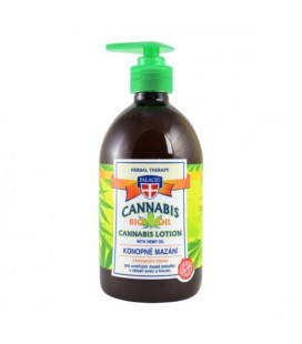 PALACIO Cannabis Lotion with Hemp Oil 500ml
