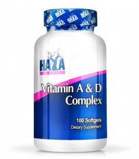 Haya Labs Vitamin A & D Complex 100softgels