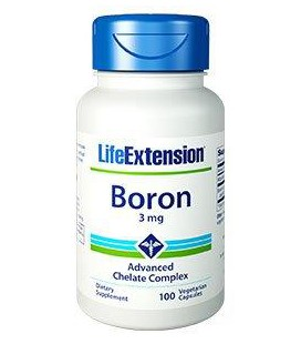 Life Extension Boron 3mg 100vcaps
