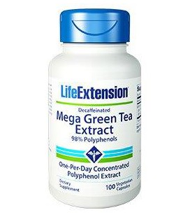 Life Extension Mega Green Tea Extract 725mg 100vcaps