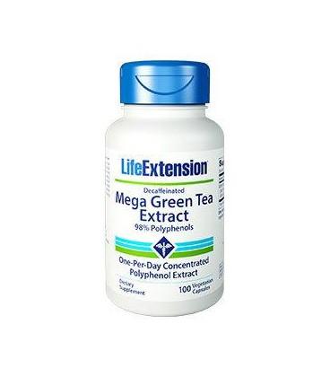 Life Extension Mega Green Tea Extract 725mg 100vcaps