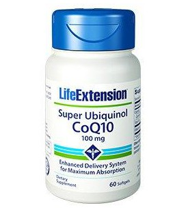 Life Extension Super Ubiquinol CoQ10 100mg 60vcaps
