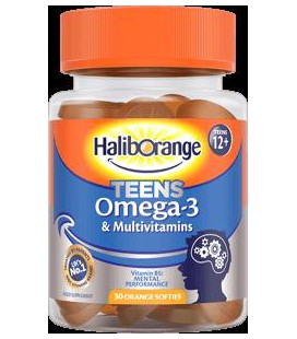 Haliborange Teens Omega-3 Softies 30 gummies