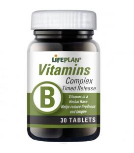 Lifeplan Vitamin B Complex Timed Release 30tab