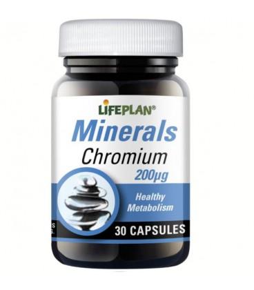 Lifeplan Chromium 200mcg 30kaps