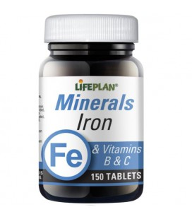 Lifeplan Iron & Vitamins B & C 150tab