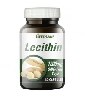 Lifeplan Lecithin 1200mg 30kaps