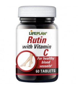 Lifeplan Rutin with Vitamin C 60tab
