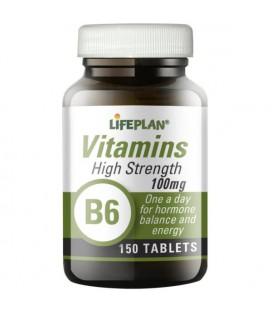 Lifeplan Vitamin B6 100mg 150tab