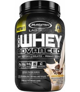 Muscletech 100% Whey Advanced 908g