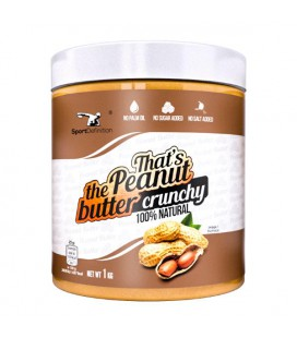 Sport Definition That's the Peanut Butter Crunchy 1kg