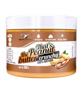 Sport Definition That's the Peanut Butter Crunchy 300g