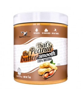 Sport Definition That's the Peanut Butter Smooth 1kg