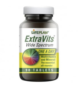 Lifeplan Extravits Wide Spectrum 90tab