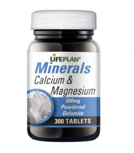 Lifeplan Calcium & Magnesium 500mg 300tab