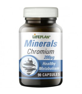Lifeplan Chromium 200mcg 90kaps