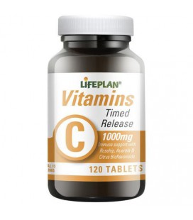 Lifeplan Vitamin C Timed Release 1000mg 120tab