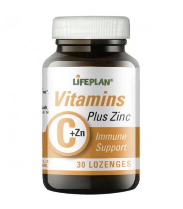 Lifeplan Vitamin C & Zinc 30loz