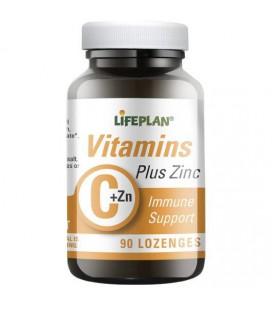 Lifeplan Vitamin C & Zinc 90loz