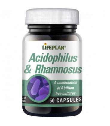 Lifeplan Acidophilus & Rhamnosus 50kaps