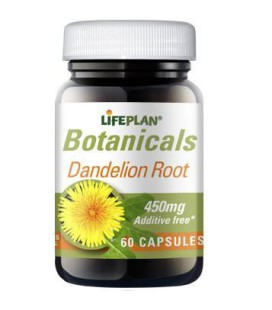 Lifeplan Dandelion Root 450mg 60kaps
