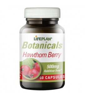 Lifeplan Hawthorn Berry 500mg 60kaps