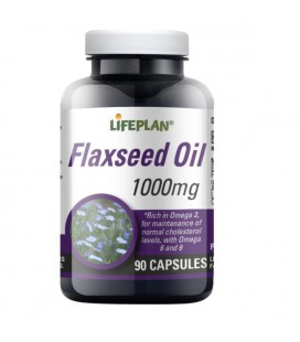 Lifeplan Flaxseed Oil 1000mg 90kaps