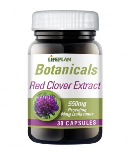 Lifeplan Red Clover Extract 550mg 30kaps
