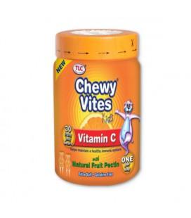 TLC Chewy Vites Kids Vit C 30 chewables