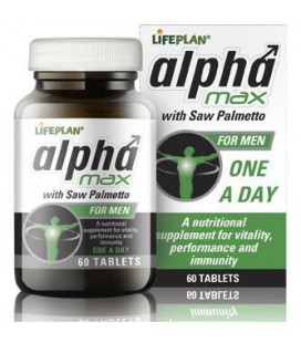 Lifeplan Alpha Max with Saw Palmetto 60tab