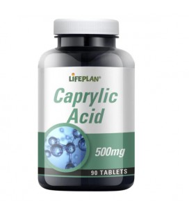 Lifeplan Caprylic Acid 500mg 90tab