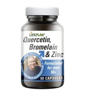 Lifeplan Quercetin, Bromelain and Zinc 90kaps