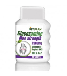 Lifeplan Glucosamine Max Strength 2000mg 90tab