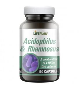 Lifeplan Acidophilus & Rhamnosus 100kaps