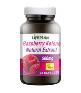Lifeplan Raspberry Ketone Extract 500mg 90kaps