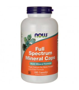 NOW FOODS FULL SPECTRUM MINERAL CAPS 240kap