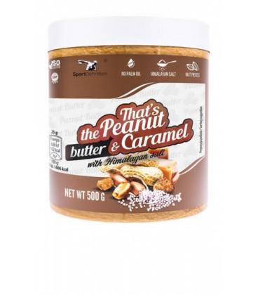 Sport Def. Thats The Peanut & Caramel Butter 500g