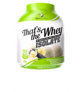 Sport Def. Thats the Whey Isolate 2,1kg