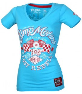 Olimp Lady's Tee - LOST REBELS aqua S