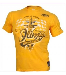 Olimp Men's Tee - MOTOR SPIRIT yellow L