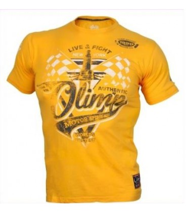Olimp Men's Tee - MOTOR SPIRIT yellow L